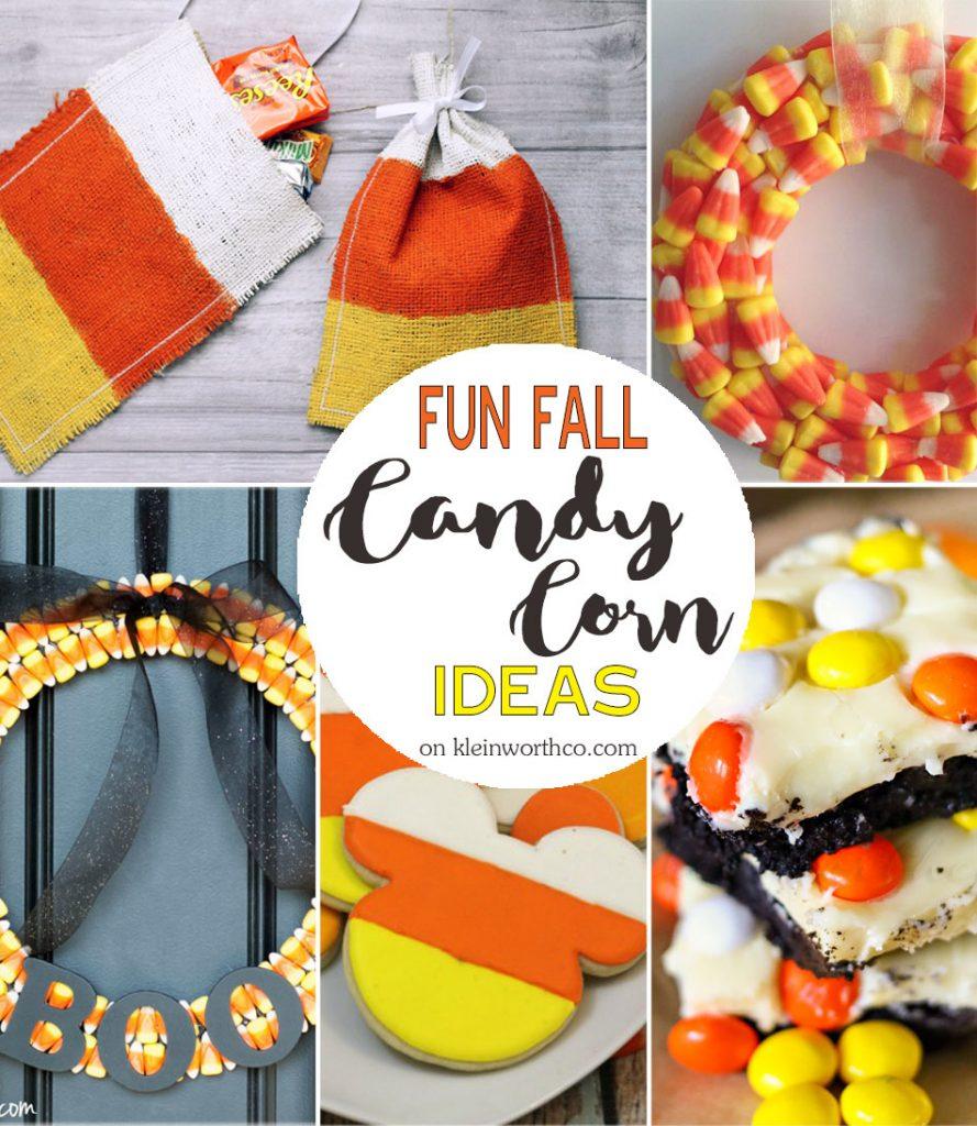 Fun Fall Candy Corn Ideas
