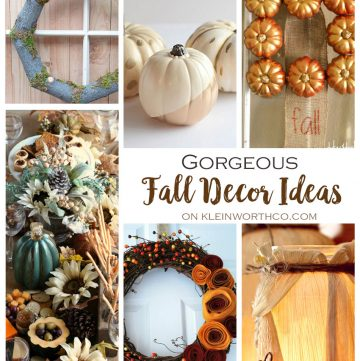 Gorgeous Fall Decor Ideas : Create Link Inspire 146