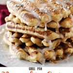 Grill Pan Pumpkin Spice Waffles
