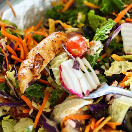 Easy Southwest Chicken Salad