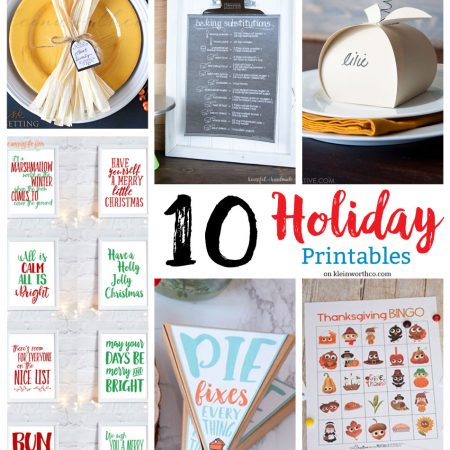 10 Great Holiday Printables