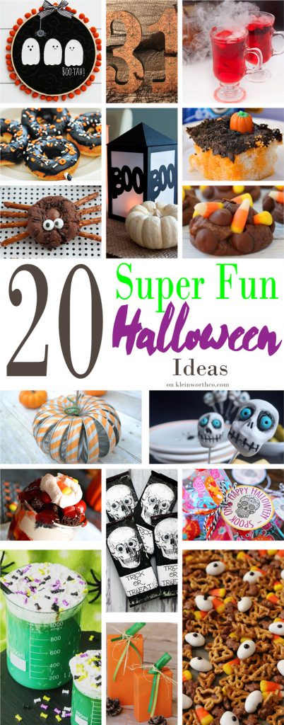 20 Super Fun Halloween Ideas