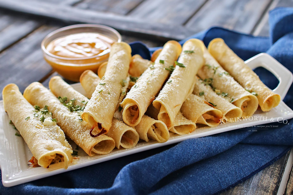 Baked Pulled Pork Taquitos