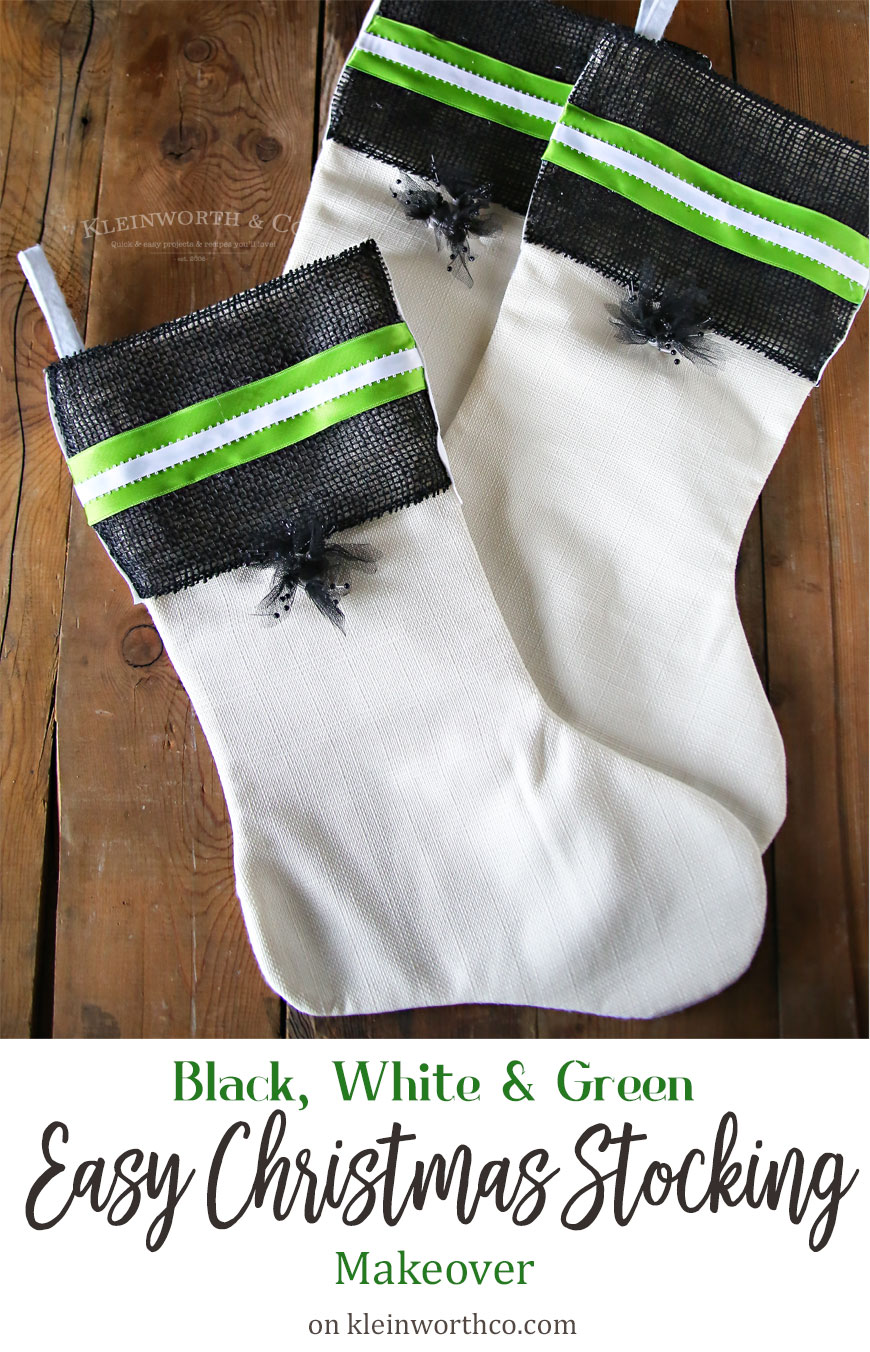 Decorated Christmas Stockings & Christmas Ideas