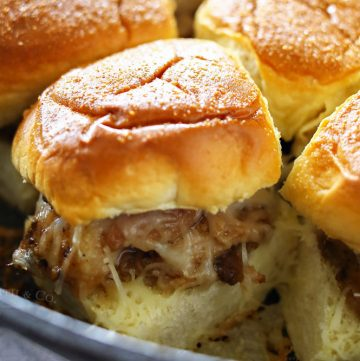 Brown Sugar Balsamic Pork Skillet Sliders