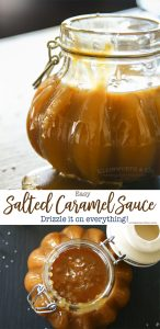 Easy Salted Caramel Sauce