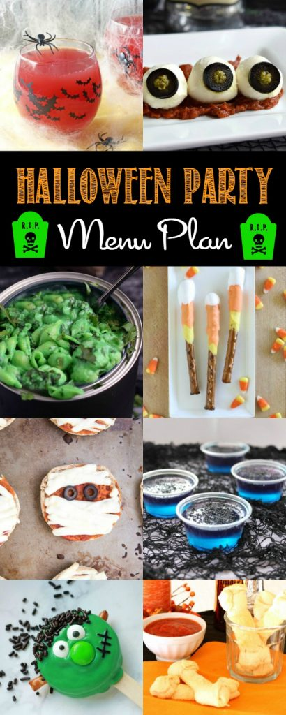 Best Halloween Party Menu Plan