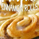 Super Easy Pumpkin Cinnamon Rolls