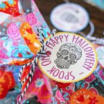 Sugar Skull Printable Gift Tag Goodie Bags