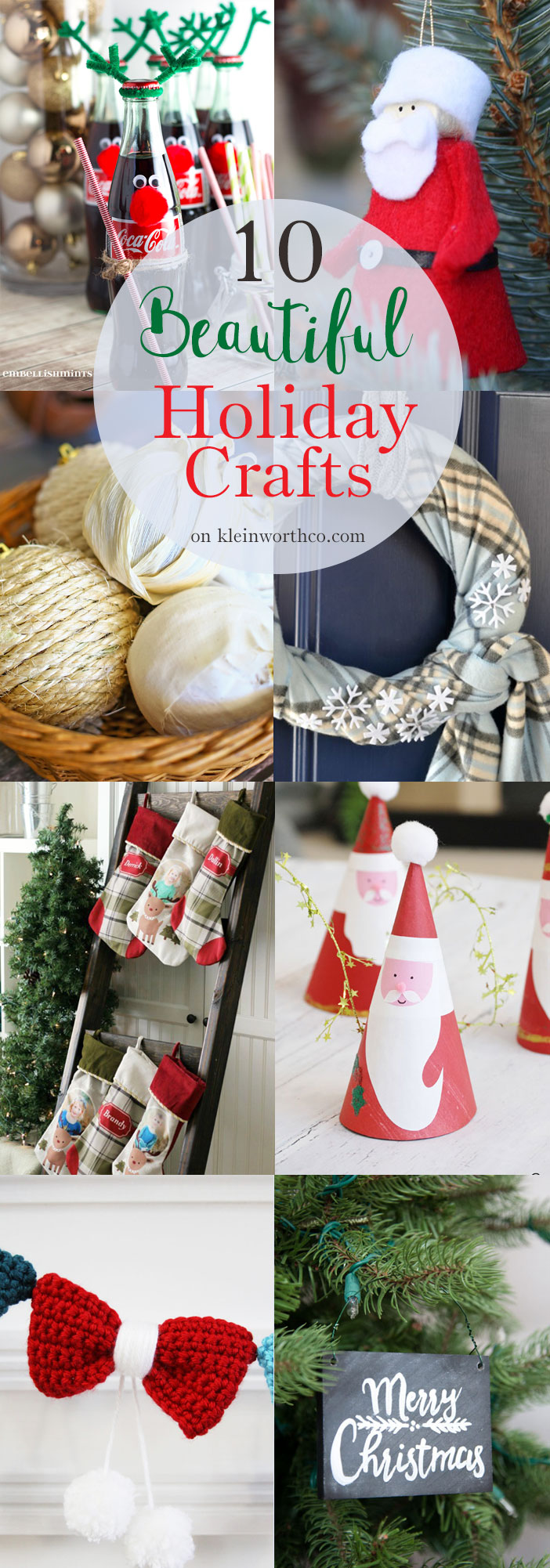 10 Beautiful Holiday Crafts