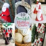 10 Beautiful Holiday Crafts   Create Link Inspire 156