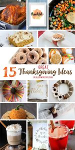 15 Great Thanksgiving Ideas