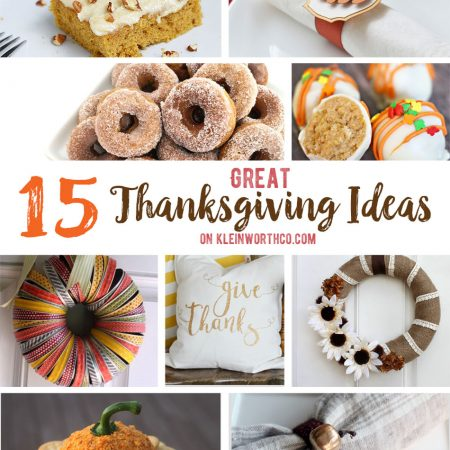 15 Great Thanksgiving Ideas : Create Link Inspire 154