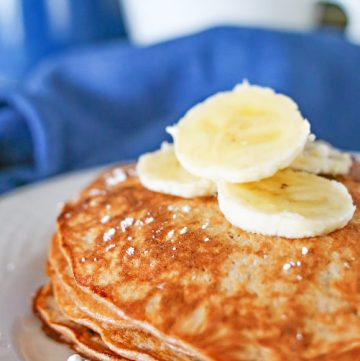 3 Ingredient Protein Pancakes