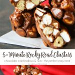 5 Minute Rocky Road Clusters