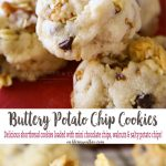 Buttery Walnut Potato Chip Cookies