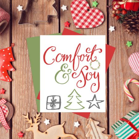 Comfort & Joy Free Holiday Printable