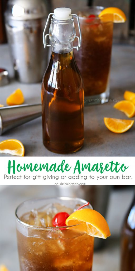 Homemade Amaretto Recipe
