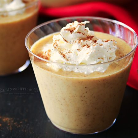Pumpkin Cheesecake Eggnog