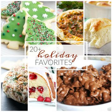 20+ Favorite Holiday Recipes