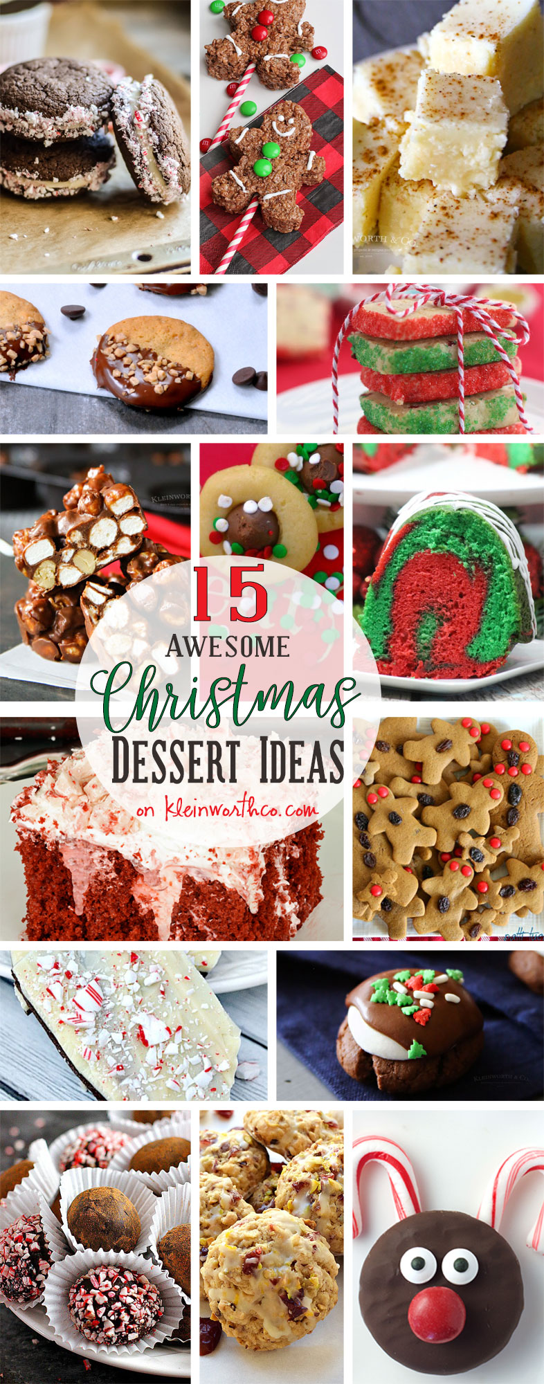15 AWESOME Christmas Dessert Ideas