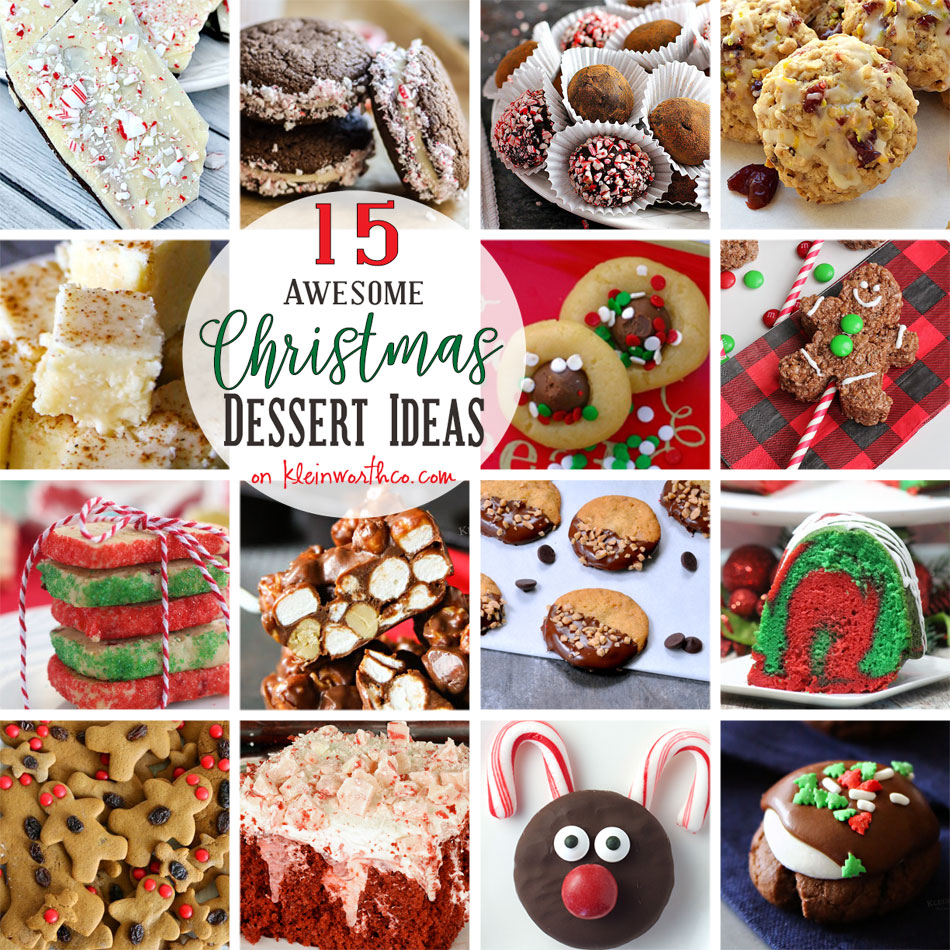20 Amazing Ideas That Will Make Your House Awesome: 15 AWESOME Christmas Dessert Ideas