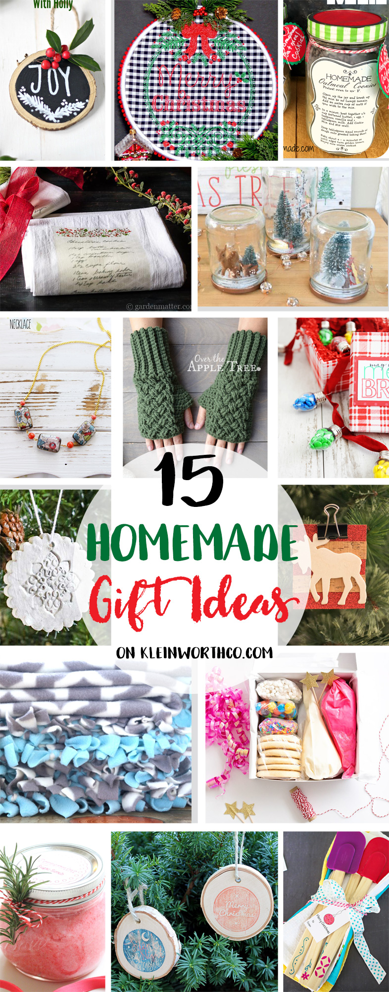 15 Homemade Gift Ideas