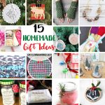 15 Homemade Gift Ideas & Create Link Inspire