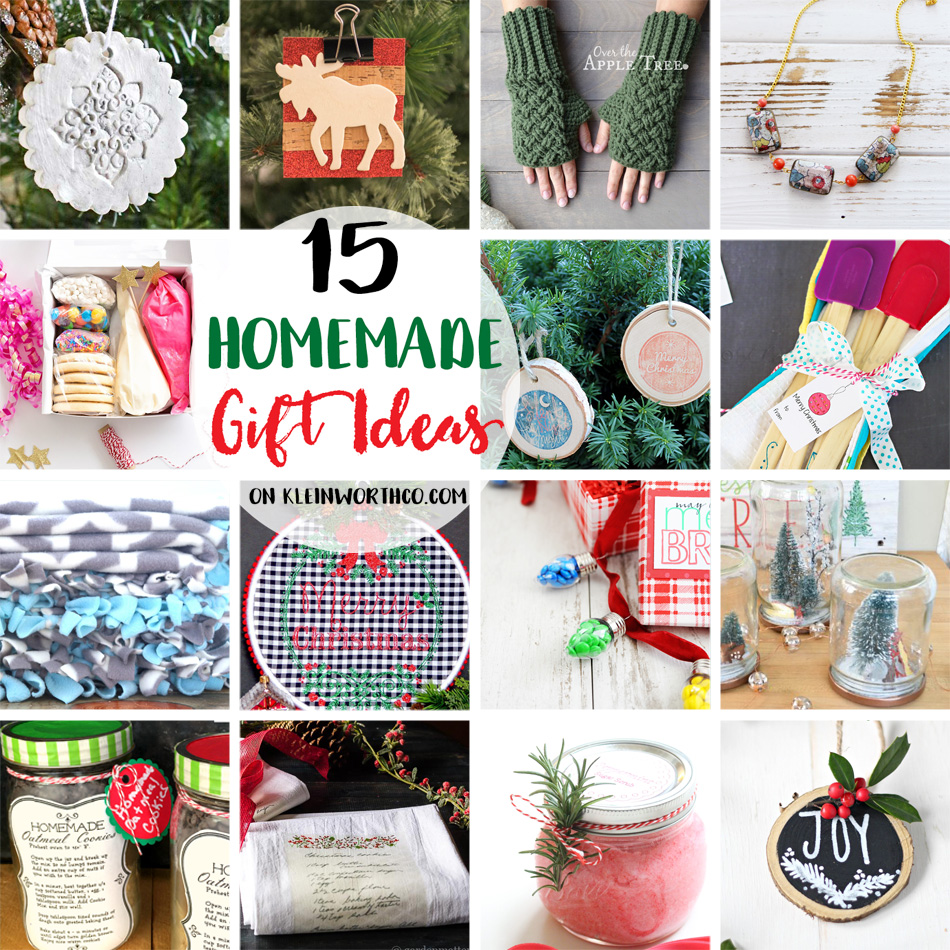 Homemade Gift Ideas: 15 Homemade Gift Ideas & Create Link Inspire