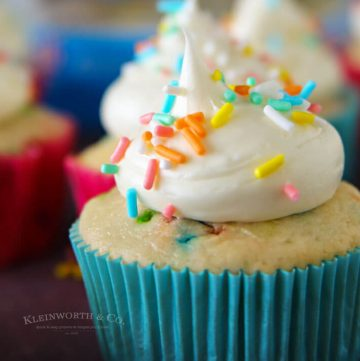2-Ingredient Funfetti® Cupcakes