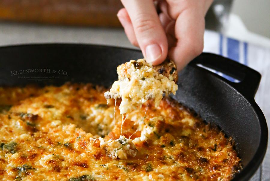 Cheesy Havarti Hot Spinach Dip