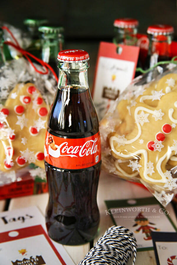 Coca-Cola Christmas Gift Idea + Printable Gift Tags