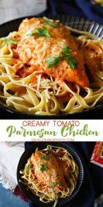 Creamy Tomato Parmesan Chicken