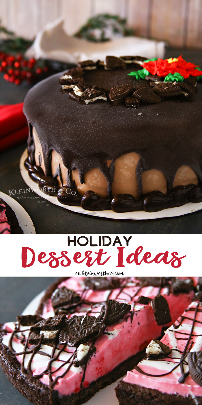 Easy Holiday Dessert Ideas