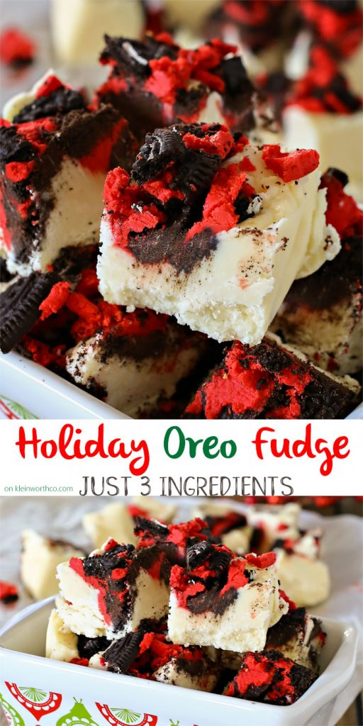 Holiday Oreo Fudge Recipe