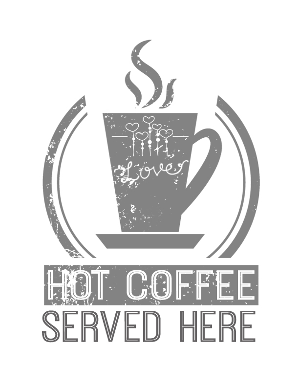 Hot Coffee Free Printable Coffee Station Sign Giveaway