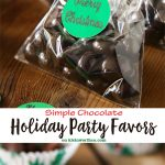 Simple Chocolate Holiday Party Favors