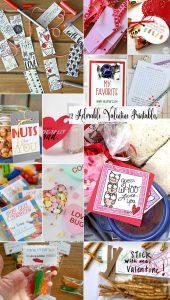 12 Adorable Valentine Printables