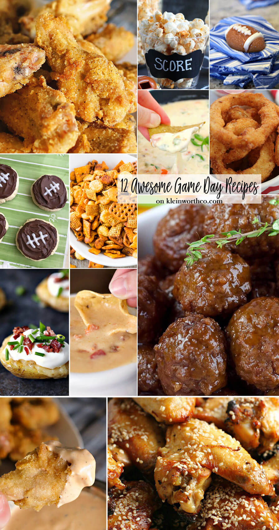 12 Awesome Game Day Recipes