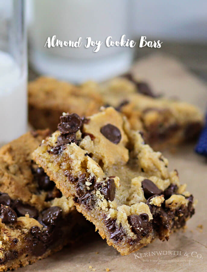 Almond Joy Cookie Bars