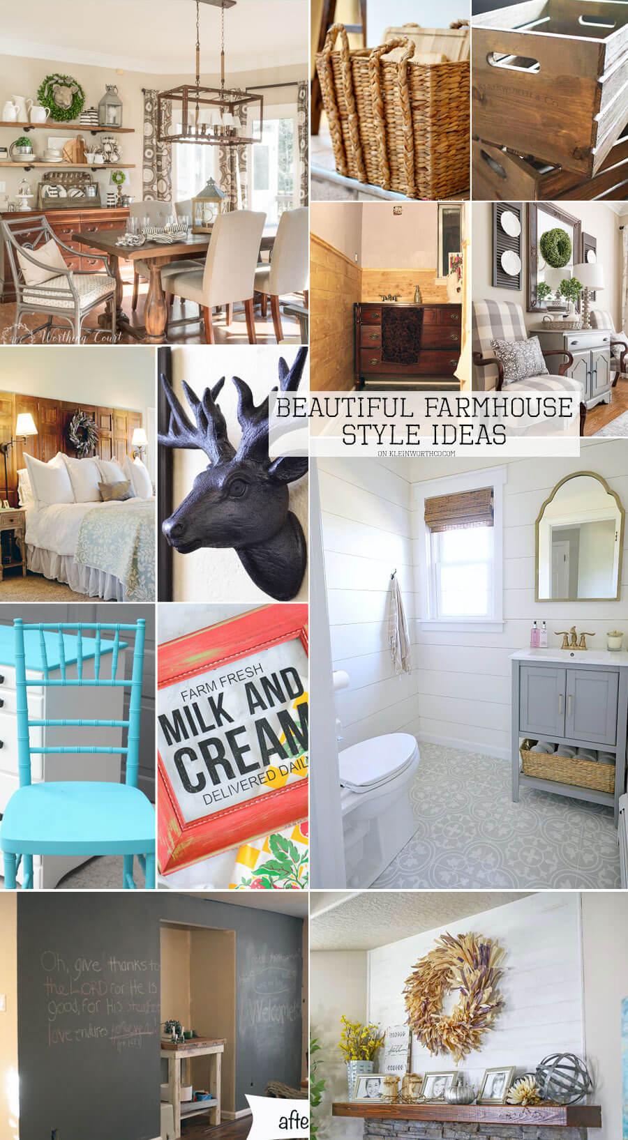 Beautiful Farmhouse Style Ideas