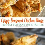 Crispy Seasoned Chicken Wings