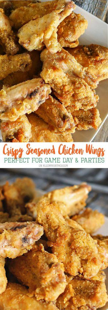Crispy Seasoned Chicken Wings