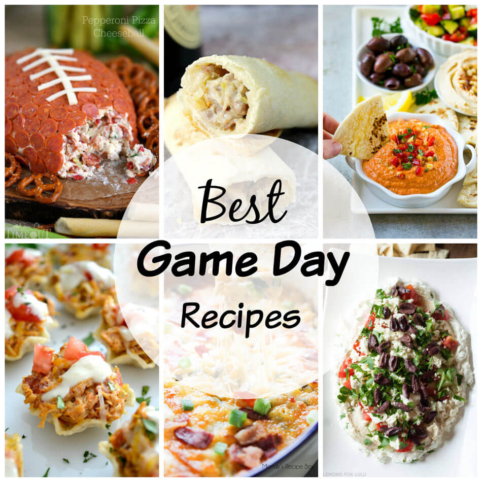Best Game Day Party Recipes