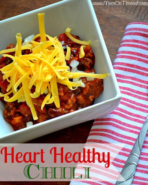 Heart Healthy Slow Cooker Chili