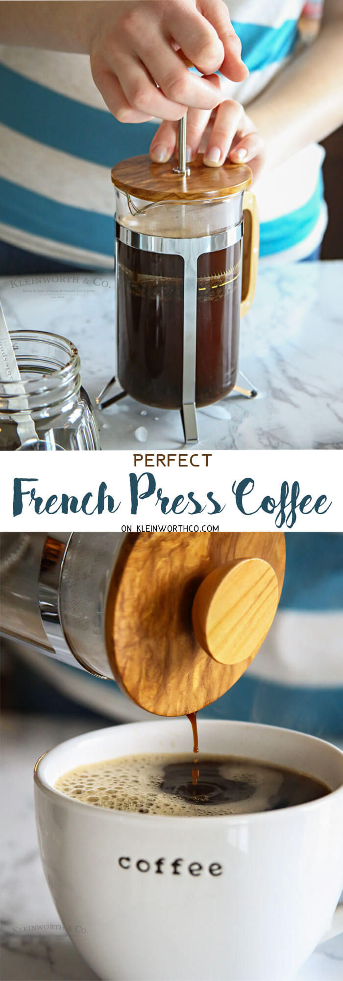 Perfect French Press Coffee with Bulletproof Coffee