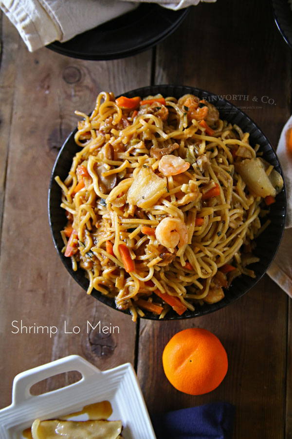 Shrimp Lo Mein - easy family dinner idea