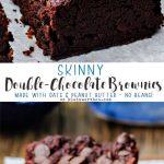Skinny Double Chocolate Brownies