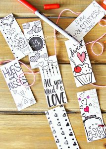 Super cute printable valentines