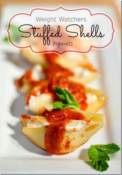 Weight Watchers Stuffed Shells